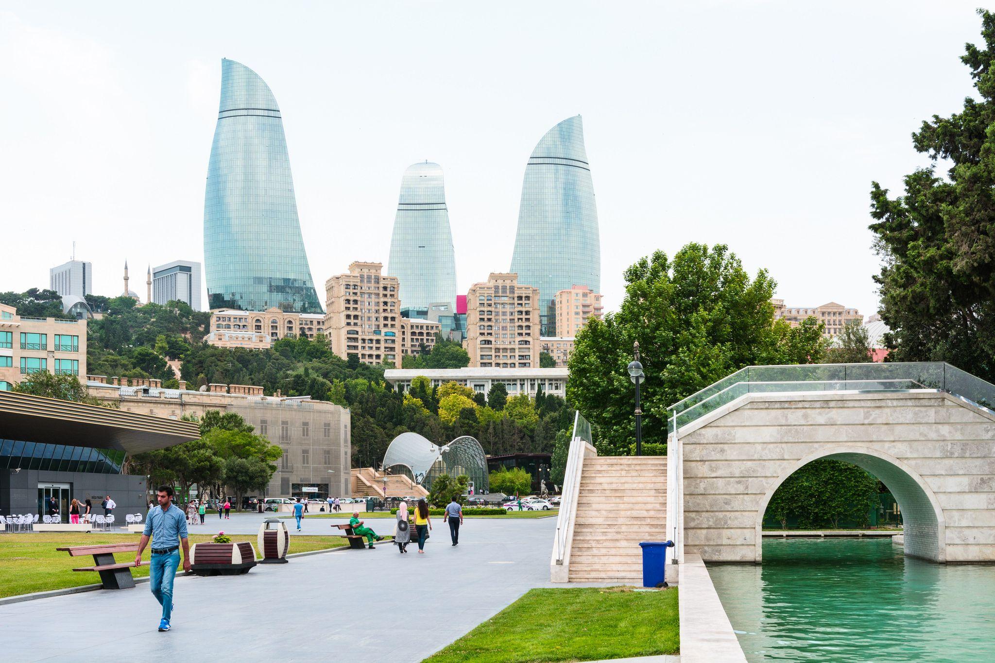 باکو پایتخت آذربایجان