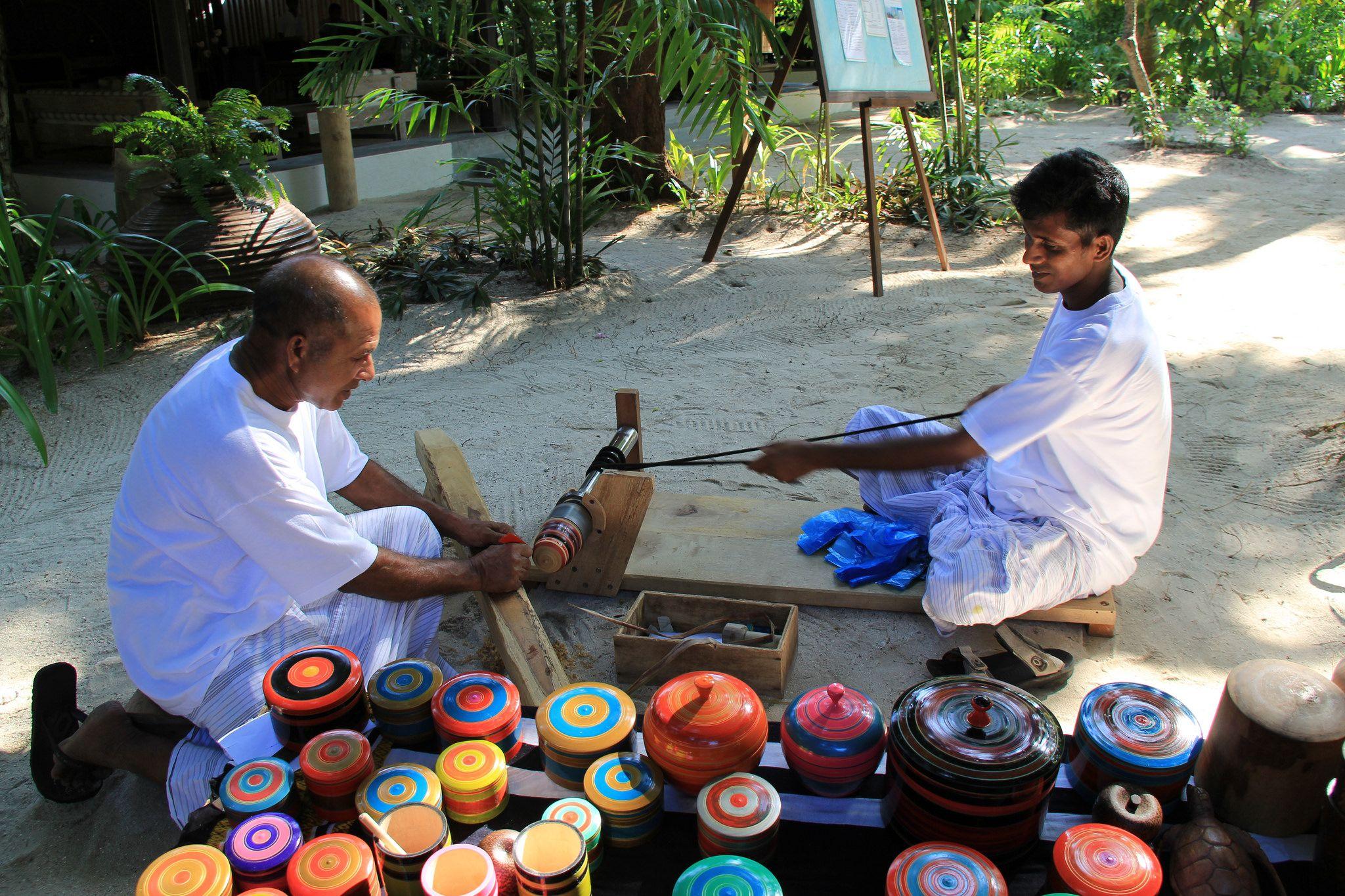 صنایع دستی در مالدیو