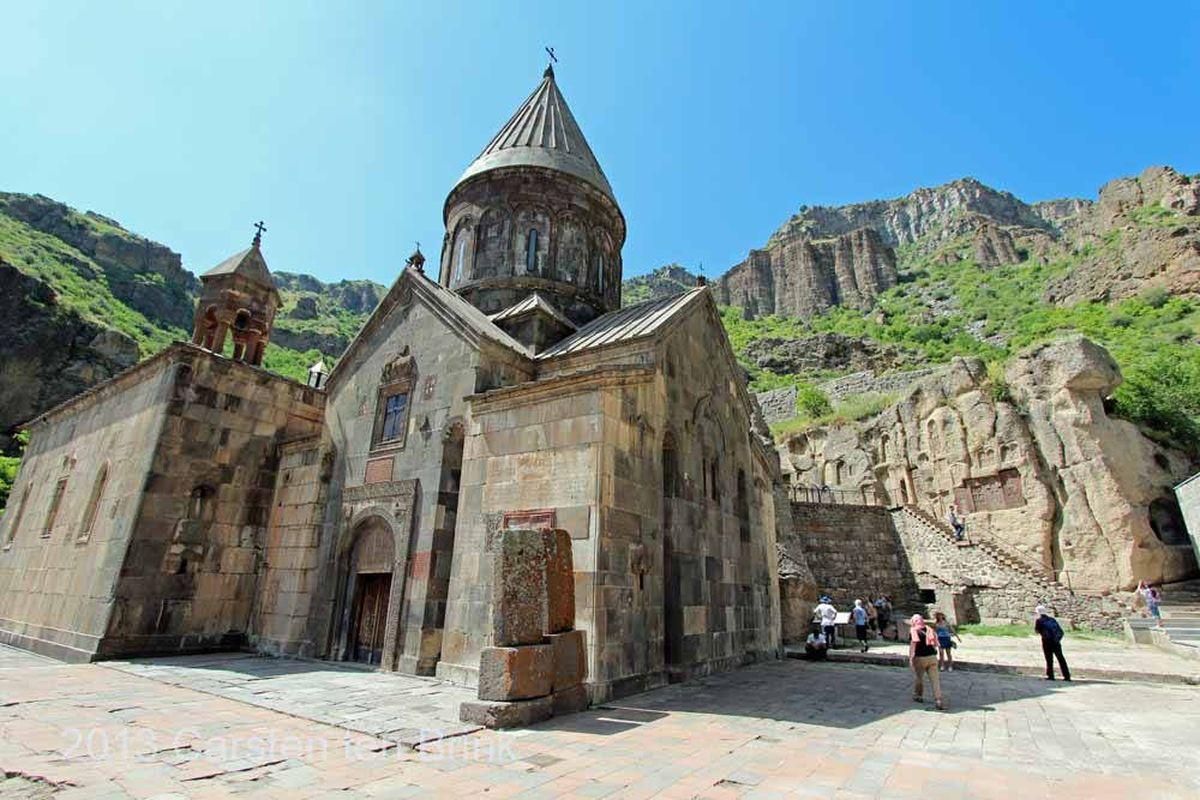 صومعه گغارت در ایروان