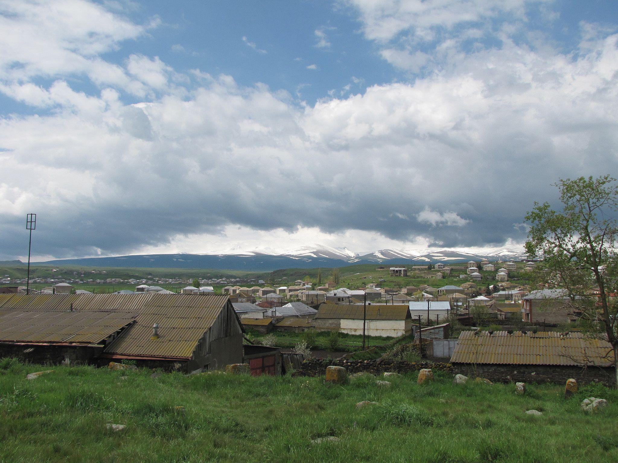 دهکده ملوکان در ارمنستان