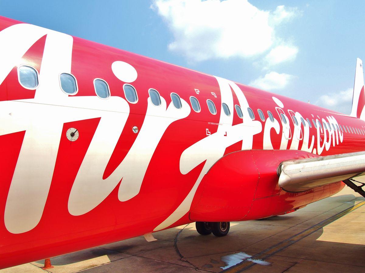 هواپیمایی ایرآسیا در فرودگاه کوالالامپور