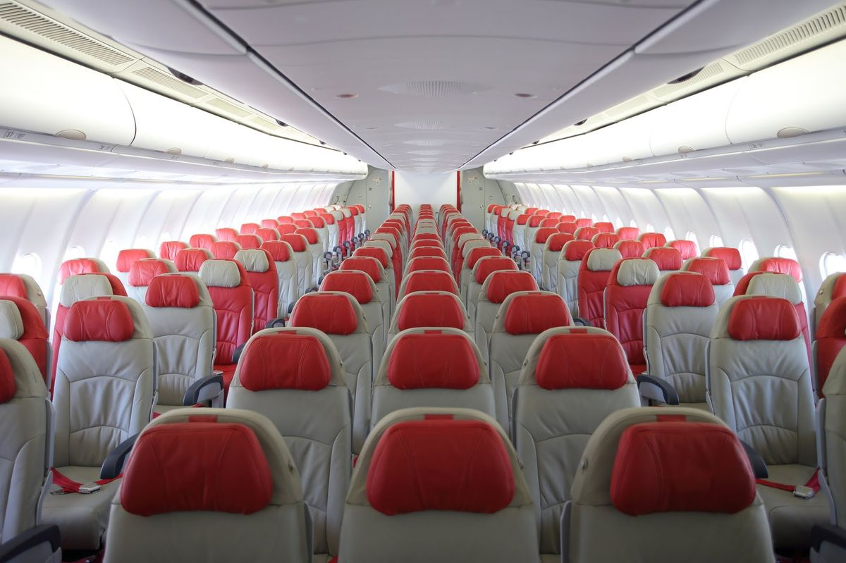 کلاس اقتصادی در هواپیمایی ایرآسیا