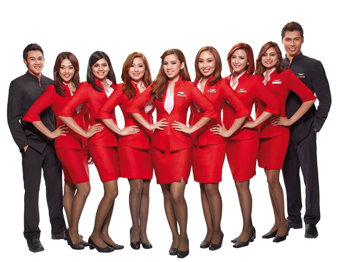 خدمه پرواز شرکت هواپیمایی ایر آسیا