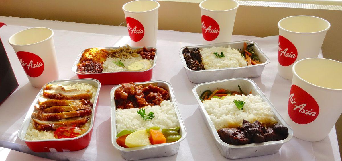 غذا در هواپیمایی ایرآسیا
