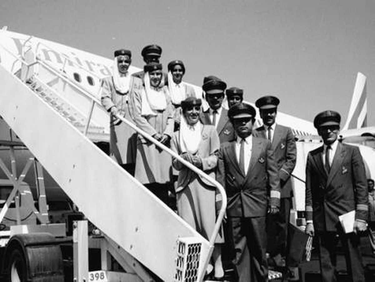 اولین پرواز خط هوایی امارات