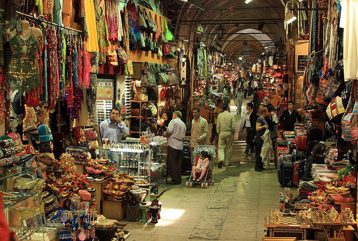 بازارهای سنتی در استانبول