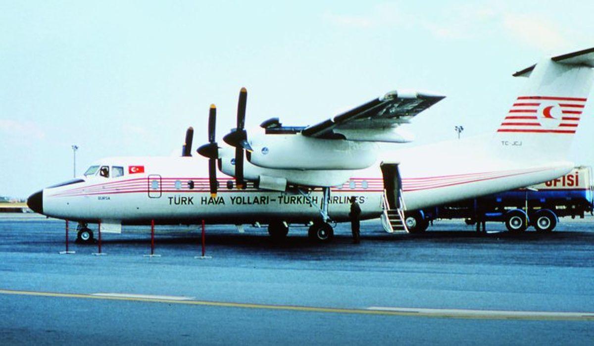 هواپیمایی قدیمی ترکیش ایرلاینز