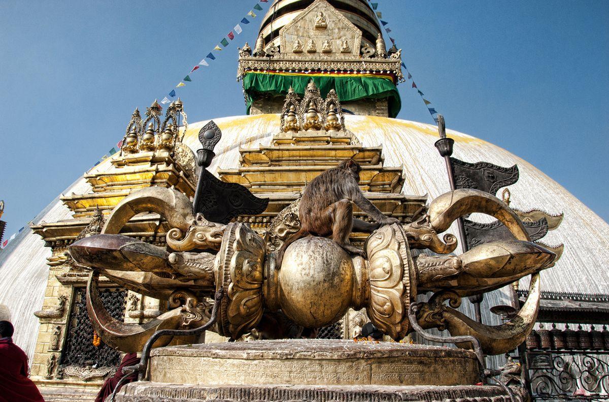 معبد سوآیام بانات در نپال