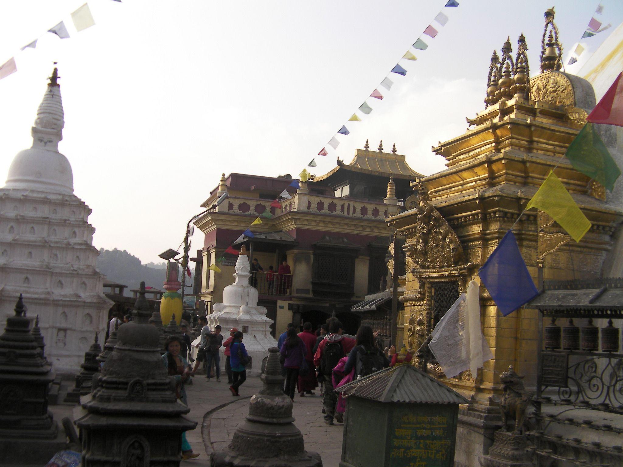 میدان شهر کاتماندو در نپال