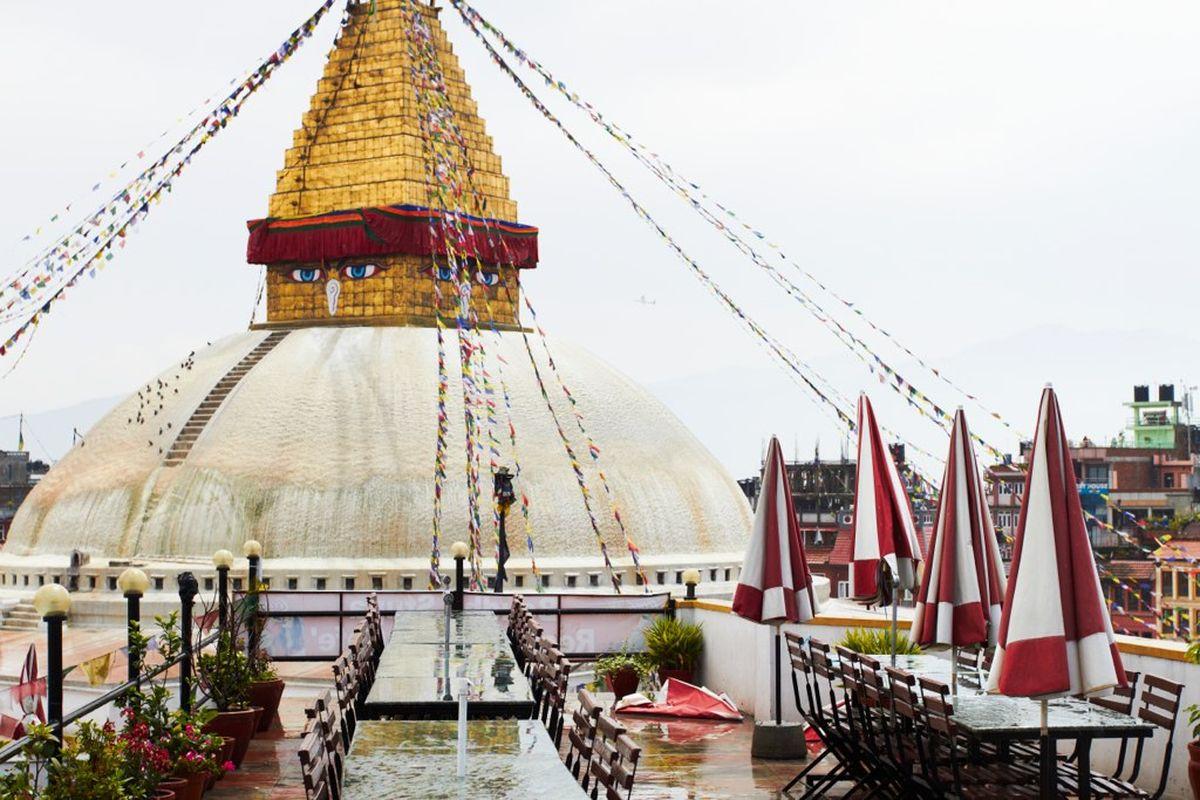 معبد بودا در نپال