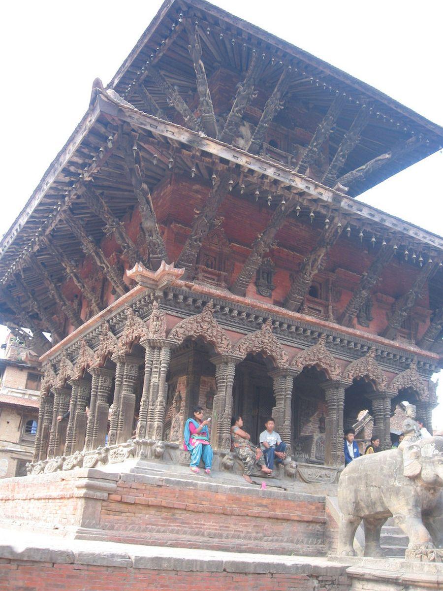 معبد کاستامانداب در نپال