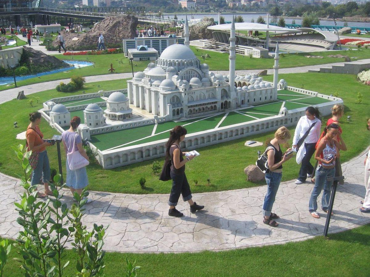 پارک مینیاتور در استانبول