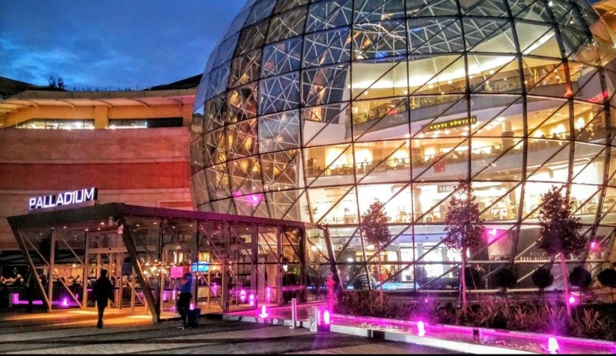 مرکز خرید پالادیوم در استانبول
