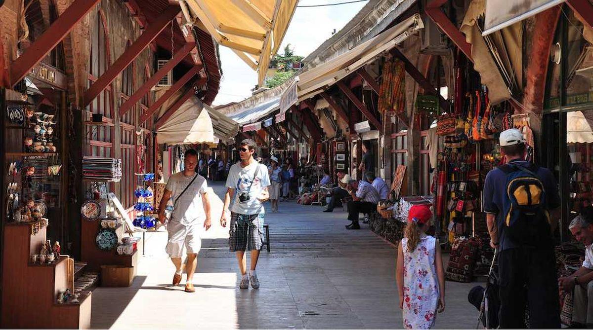 بازار سنتی آراستا در استانبول