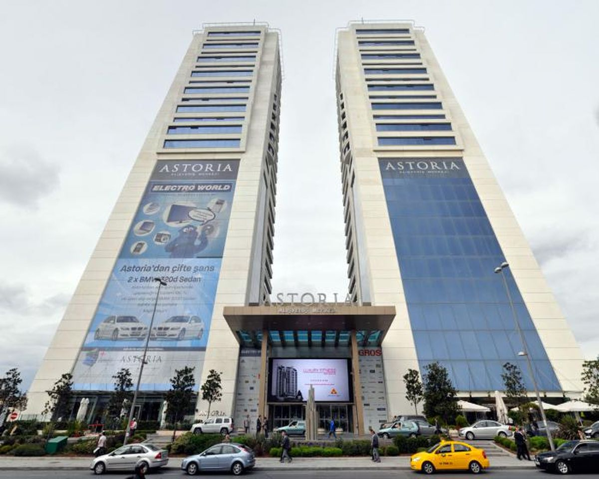 مرکز خرید آستوریا در استانبول