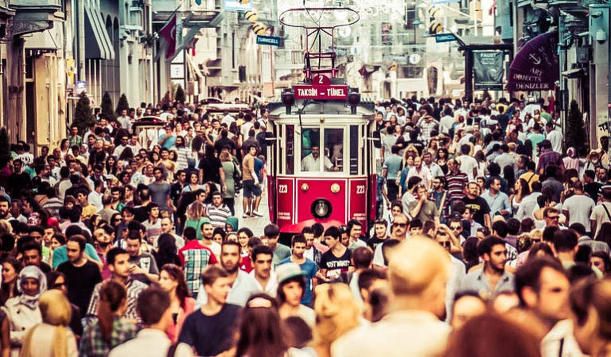 خیابان استقلال در استانبول