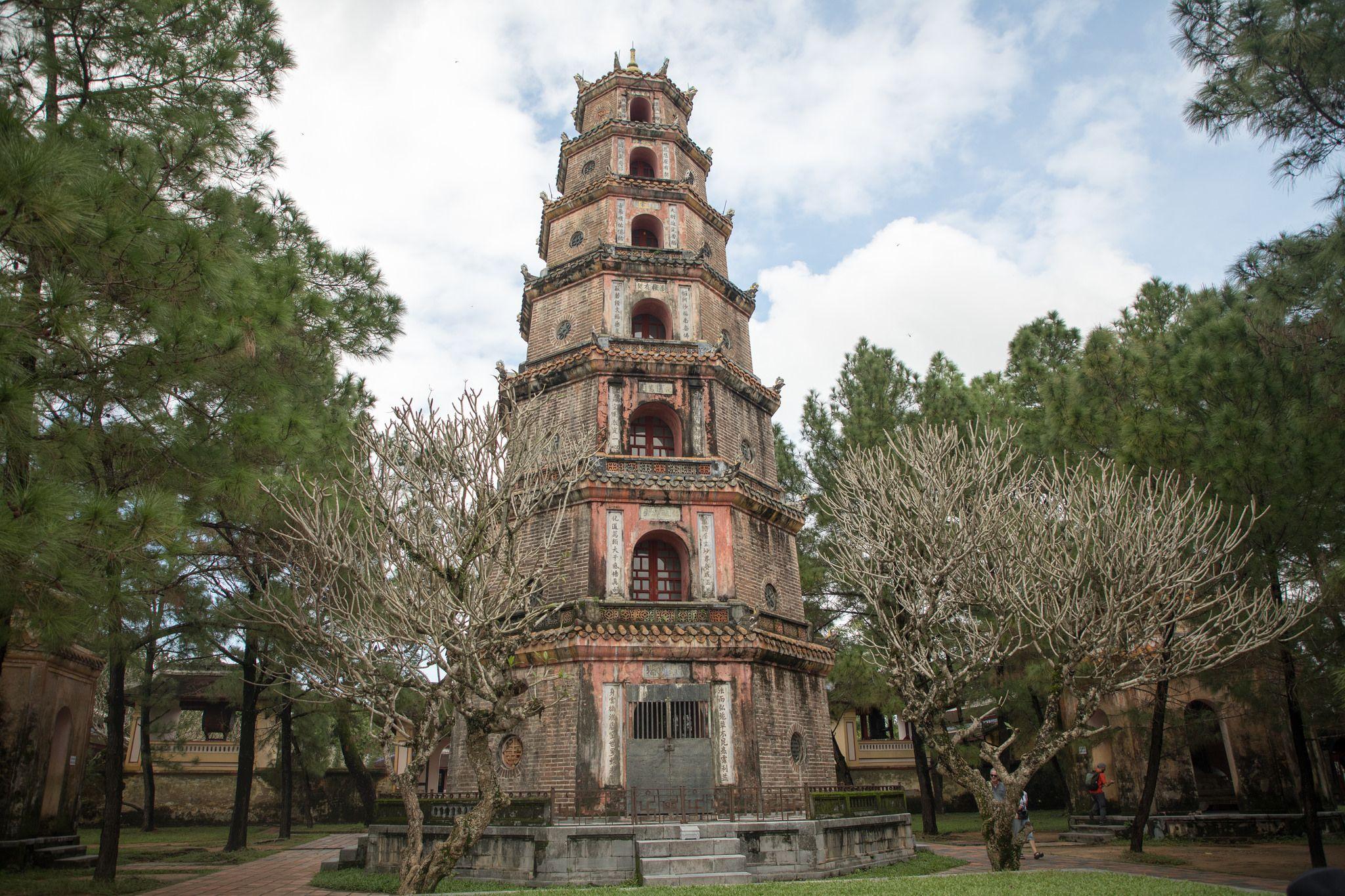 معبد تاریخی در هوئه