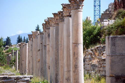 خرابههای باستانی شهر ازمیر