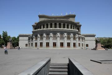 میدان آزادی در ایروان - ارمنستان