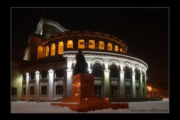 ساختمان اُپرا در ایروان