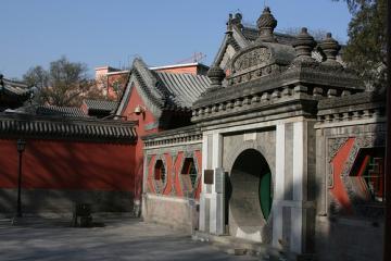 معبد وانشو در پکن - چین