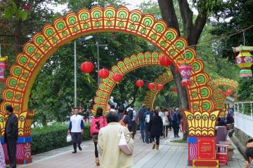 پارک Yuexiu در گوانگژو - چین