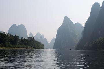 رودخانه لی در گوئیلین - چین