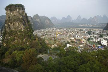 شهرک Yangshuo در گوئیلین - چین