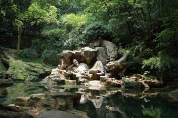 چشمه Hupao در هانگژو - چین