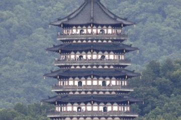 معبد Liuhe در هانگژو - چین