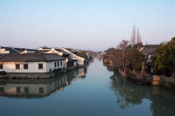شهرک Wuzhen در هانگژو - چین