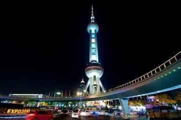 برج تلویزیونی اورینتال پرل در شانگهای - چین