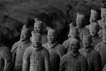 لشگر سربازان سفالین در شیآن - چین