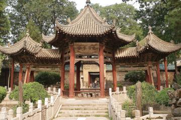 مسجد بزرگ و محله مسلمانان شیآن - چین