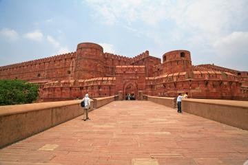 قلعه سرخ در آگرا - هند