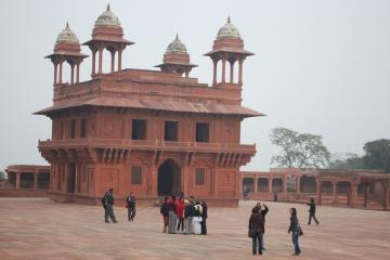 شهر تاریخی فاتحپور سیکری در آگرا - هند