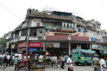 منطقه چاندنی چوک در دهلی - هند