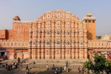 قصر هوا محل در جیپور - هند