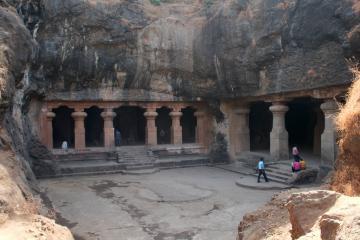 غارهای الفنتا در بمبئی - هند