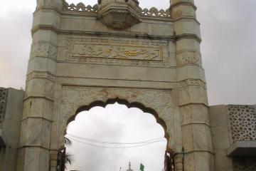 درگاه حاجی علی در بمبئی - هند