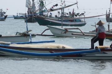 ساحل جیمباران در بالی - اندونزی