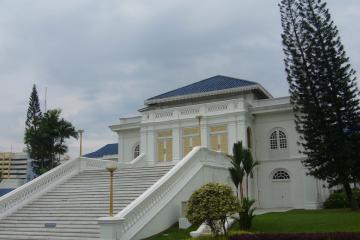 قصر سلطان ابوبکر در جوهر بهرو - مالزی