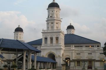 مسجد سلطان ابوبکر در جوهر بهرو - مالزی