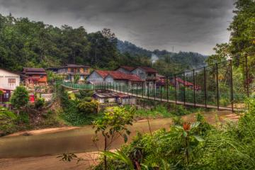 شهرک سونگای لمبینگ در کوآنتان - مالزی