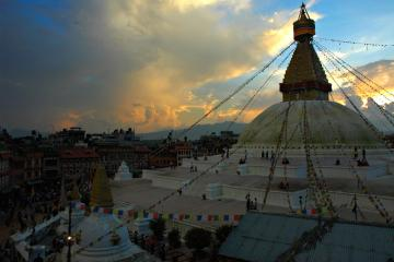 معبد بودا در بودانات - نپال