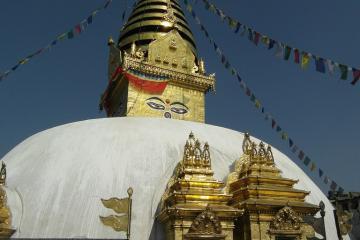 معبد سوآیام بانات در کاتماندو - نپال