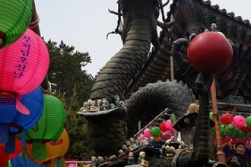 معبد هائِدُن یانگ گوگ در بوسان - کره جنوبی