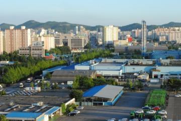 منطقهی بوپیِئُنگ در اینچئون - کره جنوبی