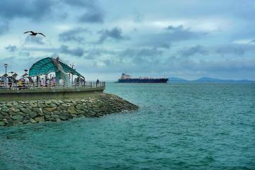 جزیره وُلمیدو در اینچئون - کره جنوبی