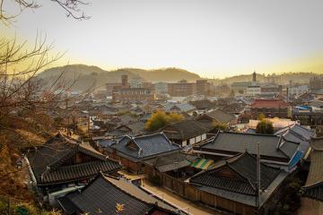 دهکده هانوک در جیئونجو - کره جنوبی